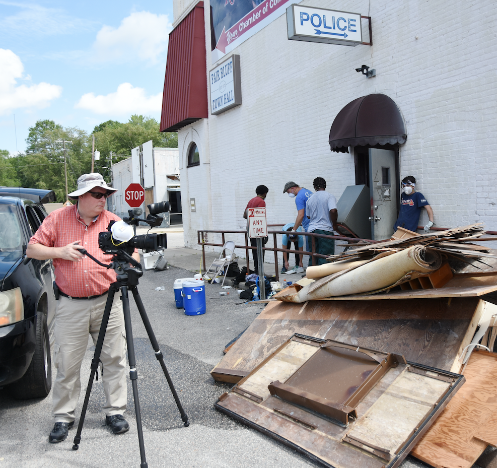 The NCCF Disaster Relief Fund made a grant to Longleaf Productions, a nonprofit that is creating a record of the recovery process that can inform current and future work.